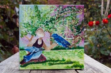 Spring: Bluebird
