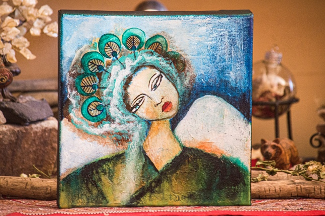 Peacock Spirit Woman