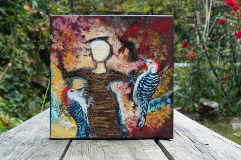 Autumn: Woodpecked